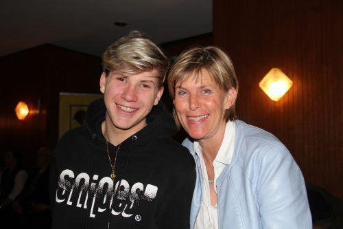 Sebastian und Anita Mathis lauschten dem Muttertagskonzert.