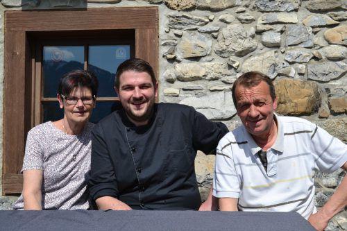 Seine Eltern Elisabeth und Franz unterstützen Mario Liendl tatkräftig bei der Umsetzung seiner Pläne. BI