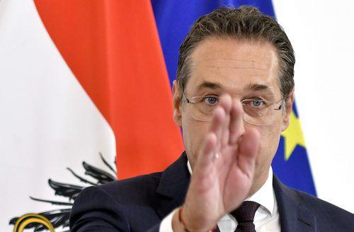 Seine Kandidatur auf dem letzten Listenplatz konnte Strache nicht mehr rückgängig machen. APA, Screenshot