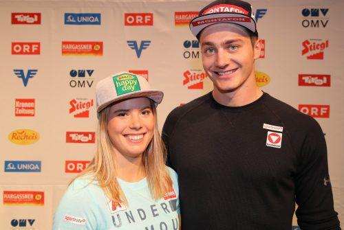 Snowboarder Alessandro Hämmerle wird heute den Anstoß vornehmen. apa