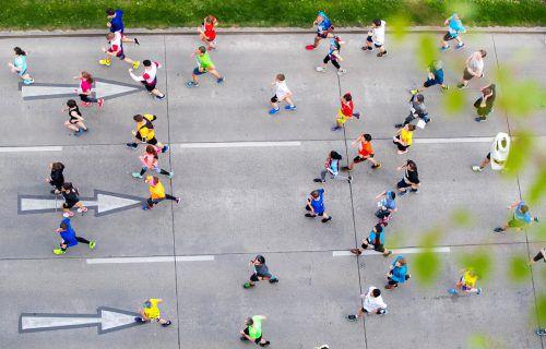 Sport allein ist kein Garant für Gesundheit. Es sollten auch die körperlichen Voraussetzungen für eine sportliche Tätigkeit gegeben sein. apa