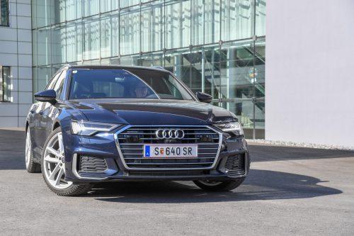 Stattlicher Businessclass-Kombi: der Audi A6 Avant überzeugt mit höchstem Komfort auf der Langstrecke.vn/Lerch