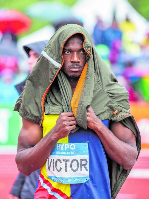 Stieß die Kugel 16,02 Meter und nahm 13.000 Euro mit nach Hause: Lindon Victor.