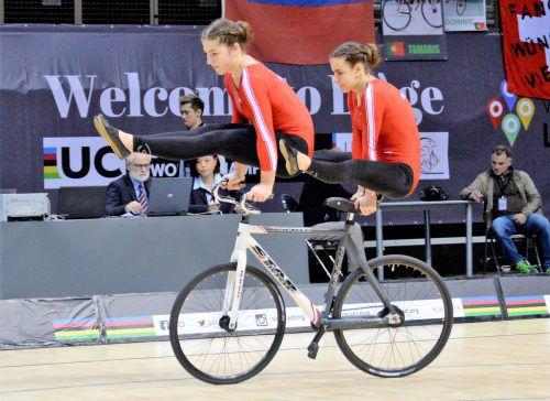 Svenja Bachmann (l.) und Rosa Kopf vom RV Sulz gehen im Zweier als Titelverteidiger ins Rennen.steurer