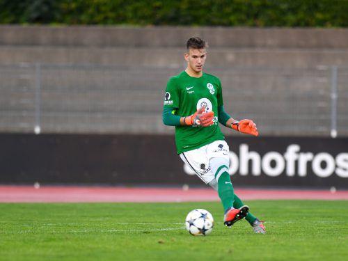 SW-Torhüter Florian Eres wechselt im Sommer zurück zum VfB Hohenems.VN-Lerch