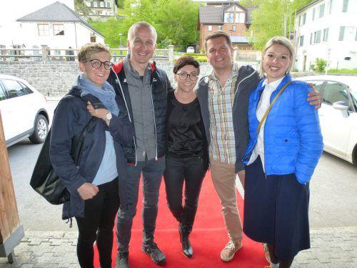 Teils aus dem ganzen Bregenzerwald kamen die Gäste zum Genussabend.buch:kultur:doren