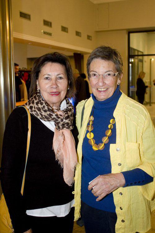 Theresia Vetter (l.) und Angela Schiemer kamen zu Ottokars Glück und Ende.