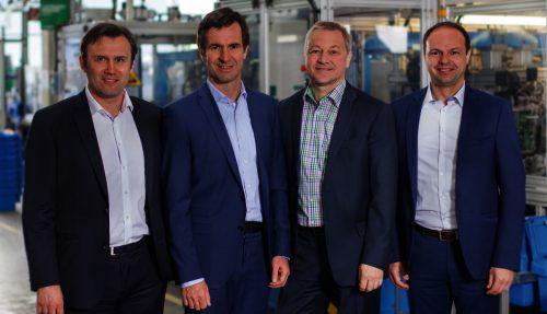 Thomas Müller (li.) und Albert Trebo führen nun die Geschäfte der Grass GmbH. Fa