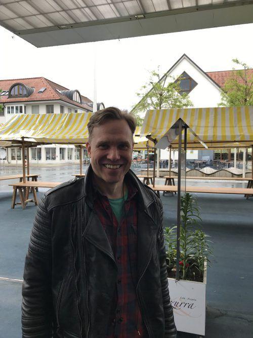 Torben Schiffer referierte im bäuerlichen Bildungszentrum Hohenems.VN