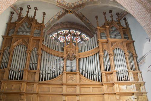 Unter Denkmalschutz: Die Bergmann-Orgel wurde 1931 errichtet.