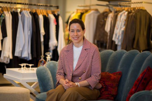 Unternehmerin Stefanie Walser wurde die Liebe zur Mode quasi in die Wiege gelegt. VN/Paulitsch