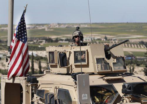 Vorerst muss kein Großaufgebot von US-Truppen in die Nahost-Region ziehen. ap