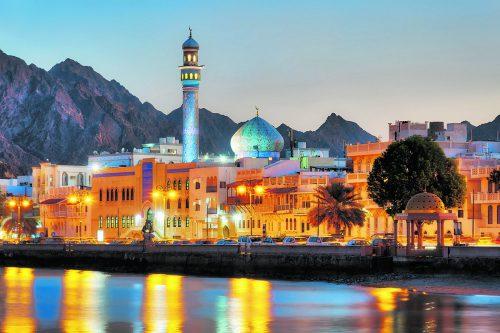 Wer im Oman ist, sollte auf jeden Fall auch die Hauptstadt Maskat besuchen.