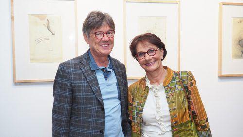 Wolfgang und Susanne Menz waren beim Erinnerungsabend zugegen.