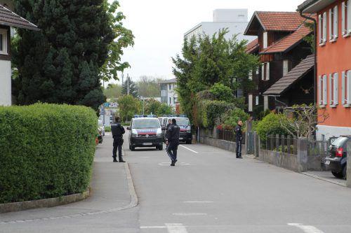 Zu einem Polizeieinsatz kam es am Montagabend in Dornbirn. VOL.AT/RAUCH