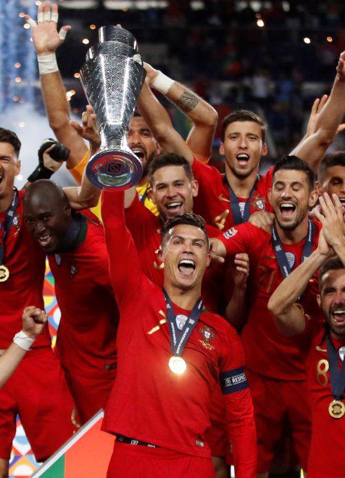 15 Jahre nach der Finalniederlage bei der Heim-EM erfüllte sich Ronaldo mit dem Gewinn der neuen Nations League den Traum von einem Titel im eigenen Land.AFP