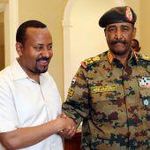 Äthiopiens Premier vermittelt im Sudan