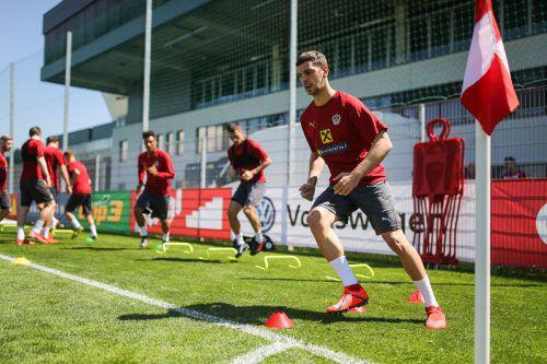 Aleksandar Dragovic und das österreichische Fußball-Nationalteam stehen in der EM-Qualifikation vor zwei wegweisenden Spielen. gepa