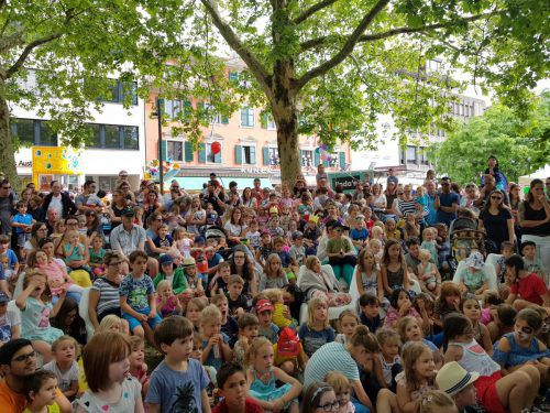 Am Samstag gehörte die Bregenzer Innenstadt wieder den Kindern. ama