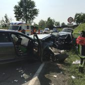 Tödliche Kollision auf der B 31 in Lindau