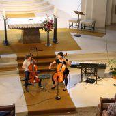 Musikschulkonzert hinter Klostermauern