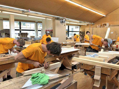 Handwerksberufe werden auch künftig wichtig sein und bieten eine langfristige Perspektive. Das Handwerk und Gewerbe ist auch Ausbildner Nummer eins in Vorarlberg. Fotos: WKV/VN