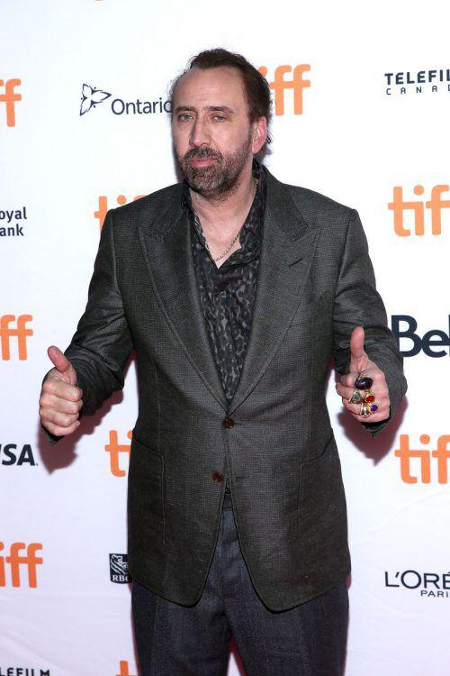 Auch die vierte Ehe von Schauspieler Nicolas Cage ist gescheitert. AFP