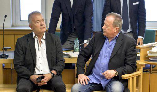 Auf der Anklagebank: Thomas Gangel (l.) und Walter Benesch.apa