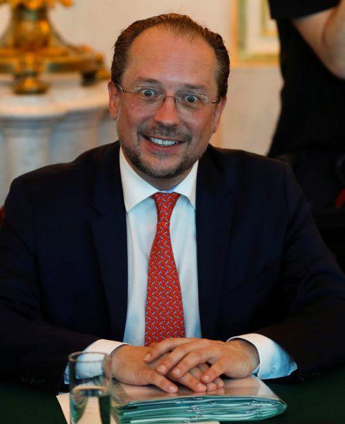 Außenminister Schallenberg lässt den Austritt aus dem Abdullah-Zentrum prüfen. APA