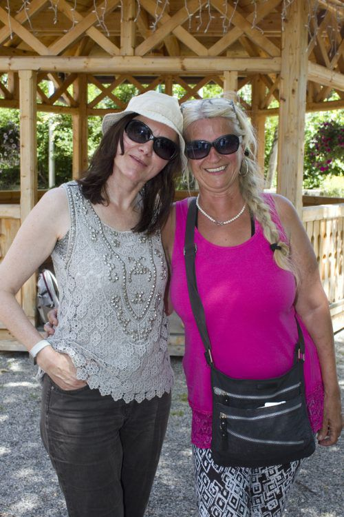 Austria Guide Ingrid Vogrin (l.) und Anita Nöstler (Außerberghütte).