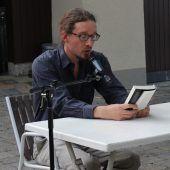 Sommerliche Open-Air-Lesung mit Autor Martin Mucha