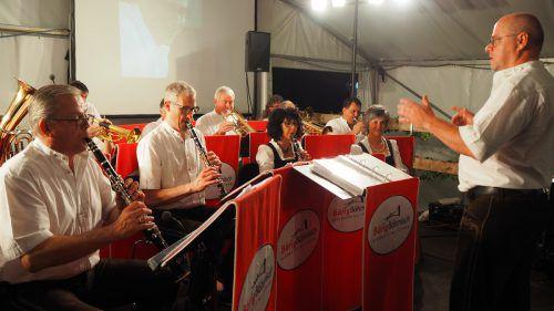 BärigBöhmisch feierte beim Konzert das 15-jährige Jubiläum. egle