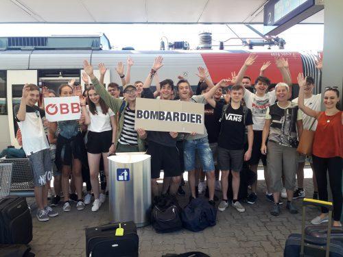 """Bei Bombardier Transportation in Hennigsdorf werden die neuen Züge der ÖBB """"Cityjet TALENT3"""" hergestellt. HTL DOrnbirn"""