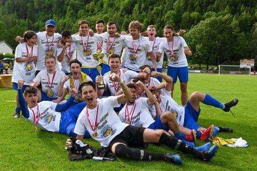 Bei den U18 geigten die Spieler des VfB Hohenems groß auf.
