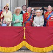 Briten greifen für Royals tief in die Tasche