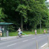 Sicher mit dem Fahrrad nach St. Arbogast