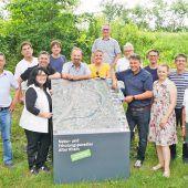Gemeinsamer Auftritt der Gemeinden am Alten Rhein