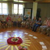 Senioren aus dem ganzen Land in Urlaubsstimmung
