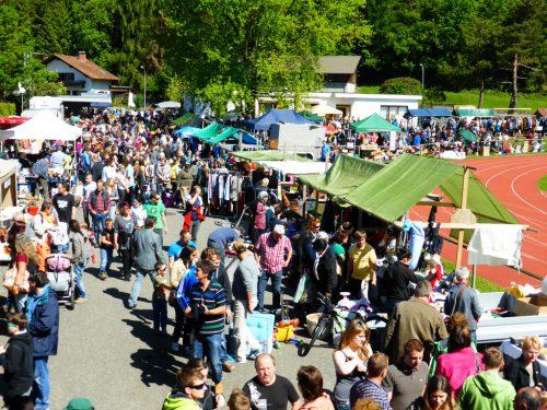 Bereits zum 21. Mal findet der Flohmarkt in Bludenz statt. Veranstalter