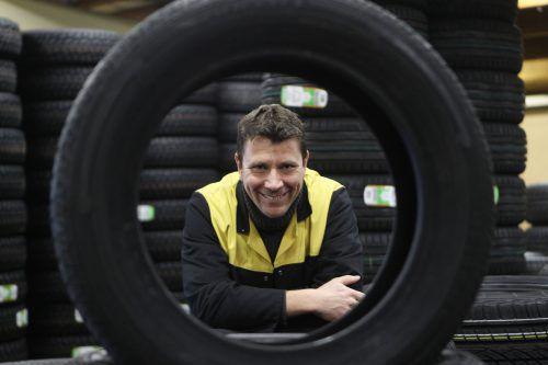 Bernd Niederstätter leitete die Geschicke desReifen- und Felgenhändlers Gummi Raab in Dornbirn. VN