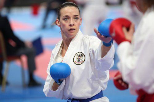 Bettina Plank arbeitet sich Schritt für Schritt Richtung Olympia 2020.ÖKB