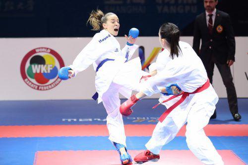 Bettina Plank befindet sich weiter auf Kurs im Kampf um das Olympiaticket.ÖKB