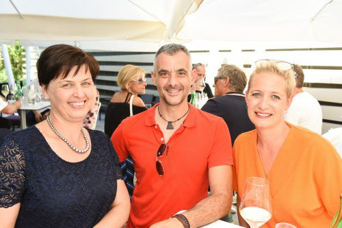 Birgit Pfeifer (WKV), Markus Tirler mit Rebecca (Tirler Gabelstapler).