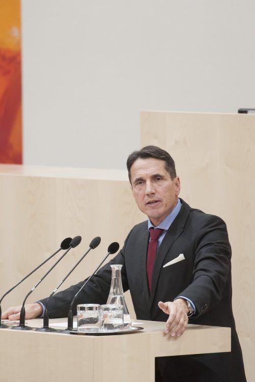 Im Parlament ist Bösch auch Obmann des Landesverteidigungsausschusses. Parl.