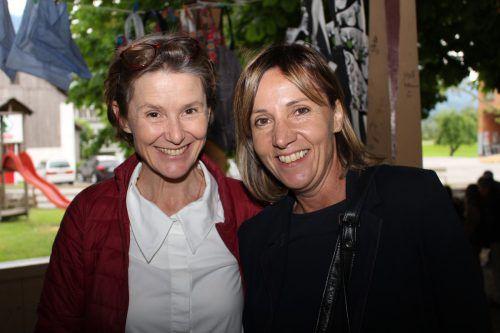 Carmen Feuchtner und Brigitte Werle (v.l.)
