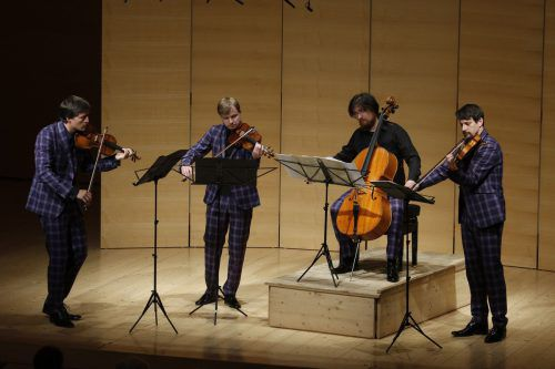 Das Apollon Musagète Quartett hat am Freitagnachmittag einen neuen, auf mehrere Jahre angelegten Schubert-Zyklus gestartet. schubertiade