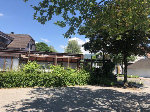 """Das ehemalige Café Mayer in Altenstadt könnte der neue """"Sternen"""" werden. VN"""