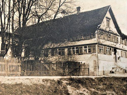 Das Gasthaus zum Schwert zu früherer Zeit (aus dem Buch von Harald Walser).