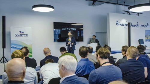 Das InnovationLab von Illwerke vkw war der Schauplatz der Veranstaltung von Senseforce zum Thema Digitalisierung. Innfeld