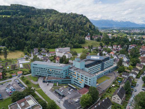Das Landeskrankenhaus Bregenz wurde über zwei Jahrzehnte hinweg in Sachen Infrastruktur auf Vordermann gebracht. VN/Steurer
